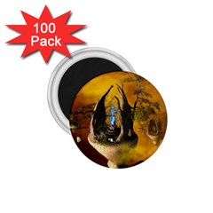 The Forgotten World In The Sky 1 75  Magnets (100 Pack)