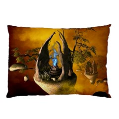 The Forgotten World In The Sky Pillow Cases