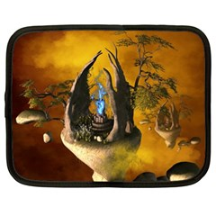 The Forgotten World In The Sky Netbook Case (XL)