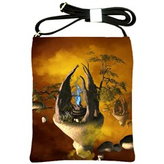 The Forgotten World In The Sky Shoulder Sling Bags