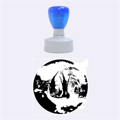 The Forgotten World In The Sky Rubber Round Stamps (Medium)