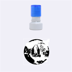 The Forgotten World In The Sky Rubber Round Stamps (Small)