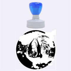 The Forgotten World In The Sky Rubber Round Stamps (large)