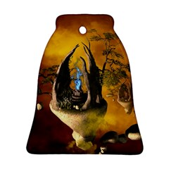 The Forgotten World In The Sky Bell Ornament (2 Sides)