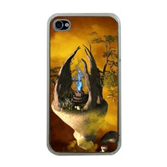 The Forgotten World In The Sky Apple iPhone 4 Case (Clear)