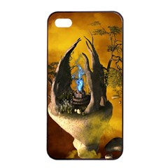The Forgotten World In The Sky Apple Iphone 4/4s Seamless Case (black)