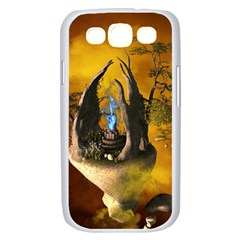 The Forgotten World In The Sky Samsung Galaxy S III Case (White)