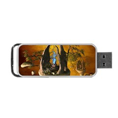 The Forgotten World In The Sky Portable USB Flash (One Side)