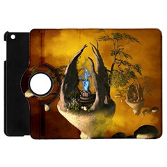 The Forgotten World In The Sky Apple iPad Mini Flip 360 Case