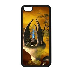 The Forgotten World In The Sky Apple iPhone 5C Seamless Case (Black)