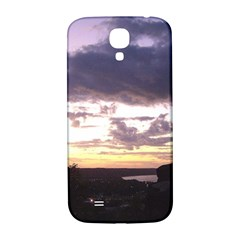 Sunset Over The Valley Samsung Galaxy S4 I9500/I9505  Hardshell Back Case