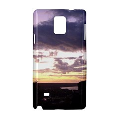 Sunset Over The Valley Samsung Galaxy Note 4 Hardshell Case