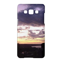 Sunset Over The Valley Samsung Galaxy A5 Hardshell Case