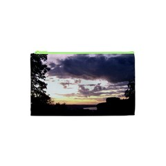 Sunset Over The Valley Cosmetic Bag (XS)