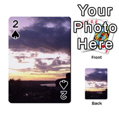 Sunset Over The Valley Playing Cards 54 Designs