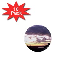 Sunset Over The Valley 1  Mini Magnet (10 pack)
