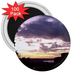 Sunset Over The Valley 3  Magnets (100 pack)