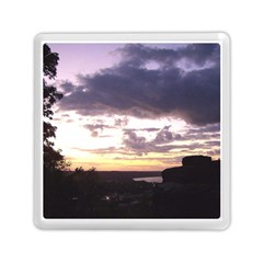Sunset Over The Valley Memory Card Reader (Square)