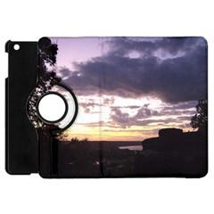 Sunset Over The Valley Apple iPad Mini Flip 360 Case