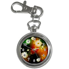 Awesome Flowers In Glowing Lights Key Chain Watches