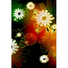 Awesome Flowers In Glowing Lights 5.5  x 8.5  Notebooks