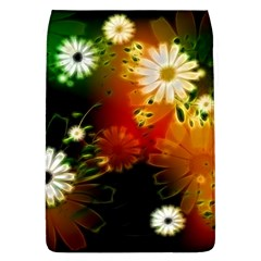 Awesome Flowers In Glowing Lights Flap Covers (L)
