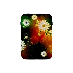 Awesome Flowers In Glowing Lights Apple iPad Mini Protective Soft Cases