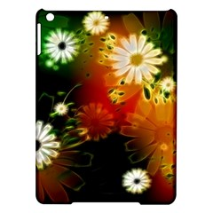 Awesome Flowers In Glowing Lights iPad Air Hardshell Cases