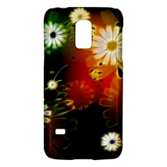 Awesome Flowers In Glowing Lights Galaxy S5 Mini