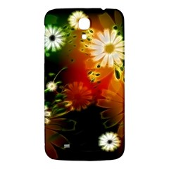 Awesome Flowers In Glowing Lights Samsung Galaxy Mega I9200 Hardshell Back Case