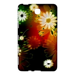 Awesome Flowers In Glowing Lights Samsung Galaxy Tab 4 (8 ) Hardshell Case