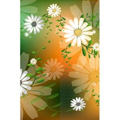 Beautiful Flowers With Leaves On Soft Background 5.5  x 8.5  Notebooks