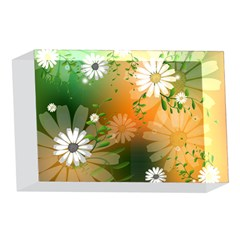 Beautiful Flowers With Leaves On Soft Background 4 x 6  Acrylic Photo Blocks