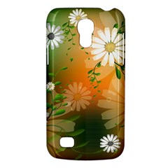 Beautiful Flowers With Leaves On Soft Background Galaxy S4 Mini