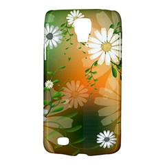 Beautiful Flowers With Leaves On Soft Background Galaxy S4 Active