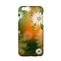 Beautiful Flowers With Leaves On Soft Background Apple iPhone 6/6S Hardshell Case