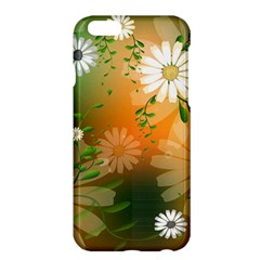 Beautiful Flowers With Leaves On Soft Background Apple iPhone 6 Plus/6S Plus Hardshell Case