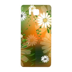 Beautiful Flowers With Leaves On Soft Background Samsung Galaxy Alpha Hardshell Back Case
