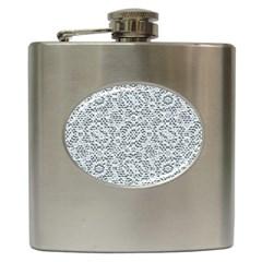 Bridal Lace Hip Flask (6 oz)