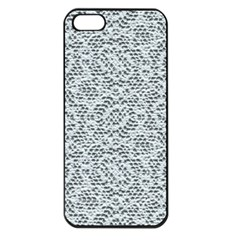 Bridal Lace Apple iPhone 5 Seamless Case (Black)