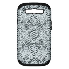 Bridal Lace Samsung Galaxy S III Hardshell Case (PC+Silicone)