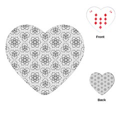 Bridal Lace 2 Playing Cards (Heart)