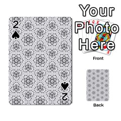 Bridal Lace 2 Playing Cards 54 Designs