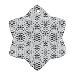 Bridal Lace 2 Snowflake Ornament (2-Side)