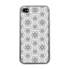 Bridal Lace 2 Apple iPhone 4 Case (Clear)