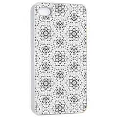 Bridal Lace 2 Apple iPhone 4/4s Seamless Case (White)
