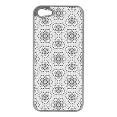 Bridal Lace 2 Apple iPhone 5 Case (Silver)