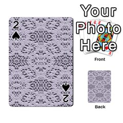 Bridal Lace 3 Playing Cards 54 Designs
