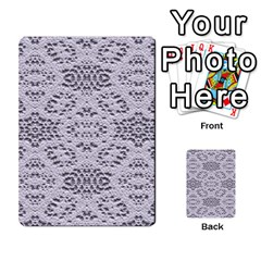 Bridal Lace 3 Multi-purpose Cards (Rectangle)