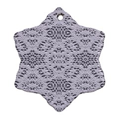 Bridal Lace 3 Ornament (Snowflake)